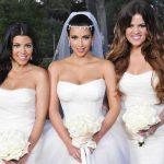 لباس عروس کیم کارداشیان