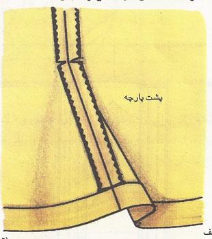 دامن نیلوفری 1